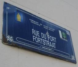 Pourquoi la rue du Fort et la rue des Fortifications s'appellent-elles comme cela ?