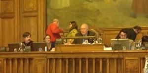 Ordre du jour du Conseil communal du 23 mai 2013