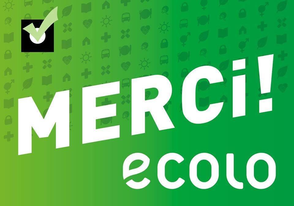 Ce 25 mai, les écologistes sont restés la 2ème force politique à Saint-Gilles