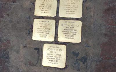 Des pavés de la mémoire devenus pierres d'achoppement à Saint-Gilles
