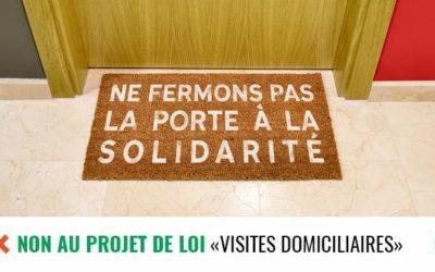 Saint-Gilles s'oppose elle aussi aux visites domiciliaires