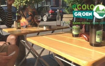 Boire un verre avec des Verts