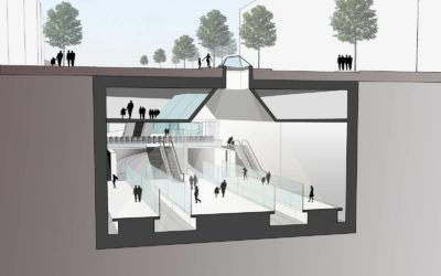 (Français) Future station de métro Constitution: la commune de Saint-Gilles invite la STIB à revoir sa copie