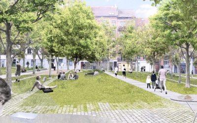 Place Marie-Janson: une nouveau parc urbain
