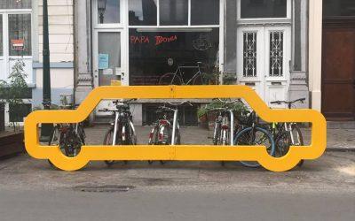 1 place de parking pour 10 places de vélos !