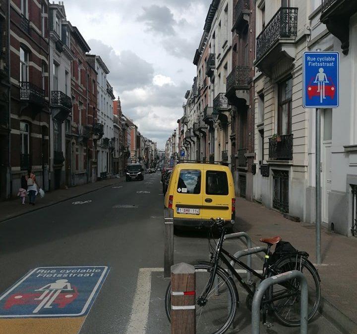 De nouvelles rues cyclables et une zone de rencontre